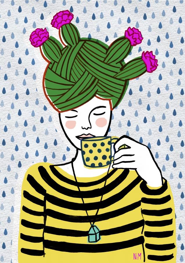 piove e io fiorisco